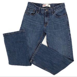 Levi's 527 Bootcut Jeans Boys Size 14 EUC